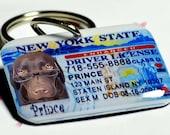 Dog Tag New York Driver License - Free Holiday Gift Box Available