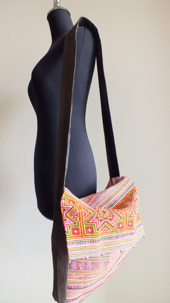 Ethnic Bohemian handmade bags Messenger Bags And Shoulder Bags from Thailand