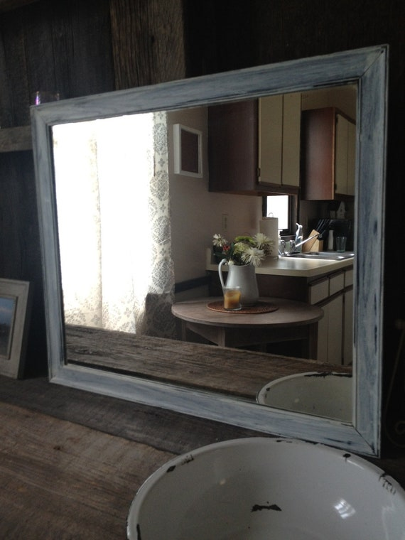 Large Shabby Chic Mirror