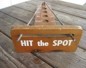 Vintage Carnival Game, Hit The Spot Game, Funky Decor, Carnival Collectible