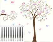 Nursery Wall Decal,Children Wall Decal,Baby Girl Wall Decal,Nursery Wall Art,WallDecals Nursery-e12