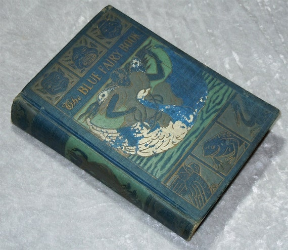 The Blue Fairy Book - Edited by Andrew Lang - Vintage, Antique, Scarce, c1909