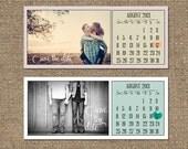 Printable Save The Date Calendar PDF // Modern, Simple Design