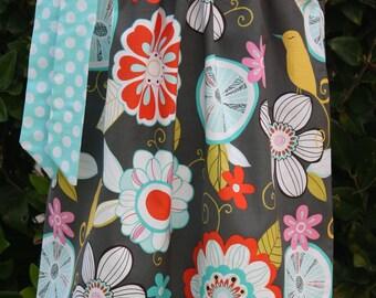 Tweet Birdie and Ocean Polka Dot Pillowcase Dress