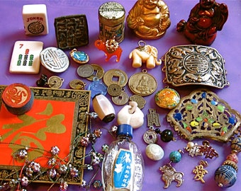 TAKE 20% off 40 Plus Piece Vintage ASIAN Treasures See ALL Images