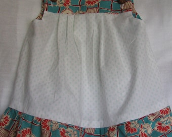 Vintage Fabric Dress in Size 3T