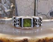"""Vintage Sterling """"Vachi"""" Designer Ring"""