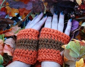 fall colors fingerless gloves free shipping sale