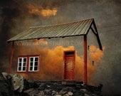 Surreal photo art, burning clouds, heavens, fantasy art, dreamscape, fine art photograph, Smithsonian Magazine top 10