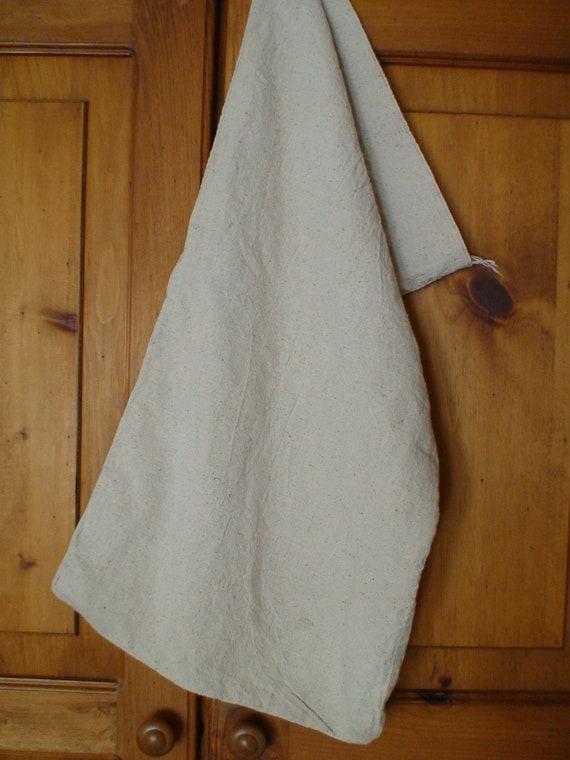 1930's Industrial Laundry Bag, Knapsack, Duffle Bag, Utility Bag, Storage Bag, Natural Burlap