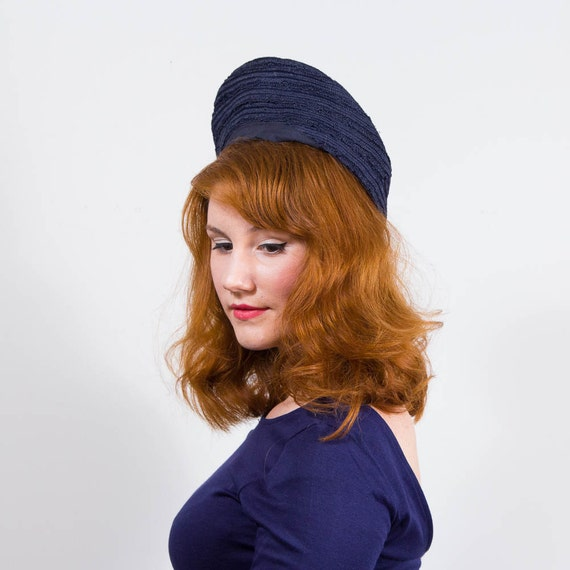 vintage 1940s hat / beret / New York Creations