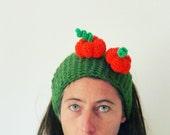 Headband Crochet Pattern - Halloween Versatile PDF Pumpkin or Spider - baby/kids/woman/man accessory costume 5 sizes TWO Patterns