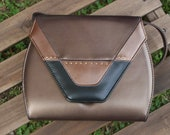 Bronze, Brown, and Gold Art Deco Vintage Purse ON SALE