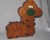 HALF OFF Entire Store Coupon Code LABORDAYSALE - Adorable Inchworm Wooden Puzzle
