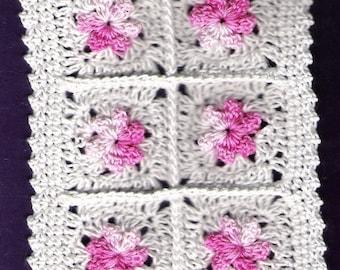 Miniature Crocheted Dollhouse Blanket