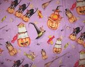 Halloween fabric by Debbie Taylor Kerman 1 yard new