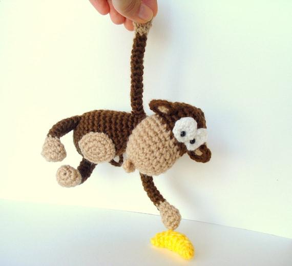 Amigurumi Orangutan Pattern : Pattern Amigurumi Pattern Amigurumi Monkey Pattern