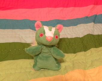 Adorable Green Skunk Plush