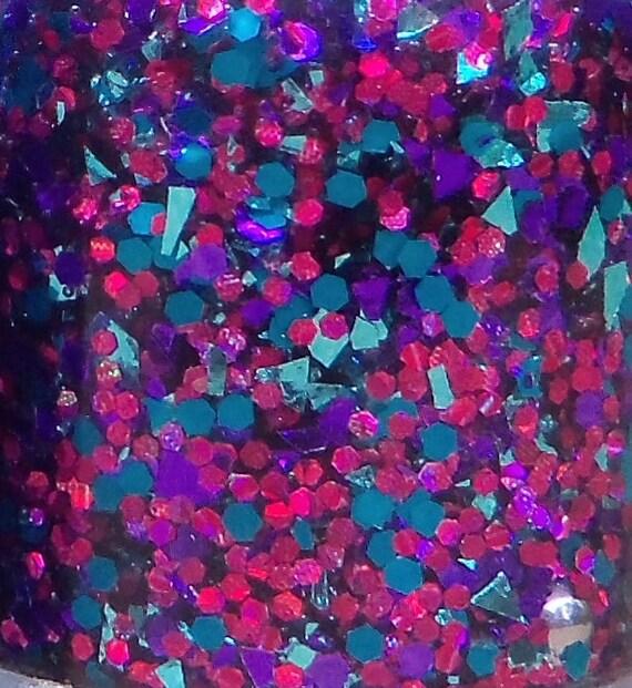Limited Edition MINI Razzle Dazzle Glitter Nail Polish