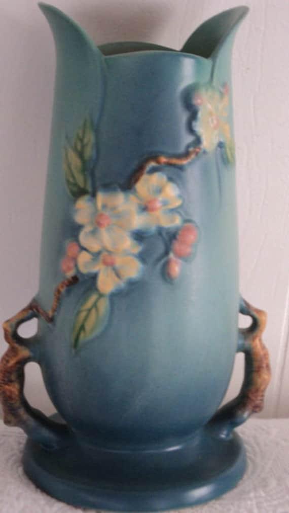 Roseville Apple Blossom Vase Mint Condition