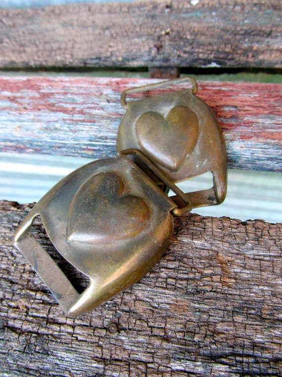 These Antique Brass Civil War Horse Bridal Buckles Are Just Plain Sweet