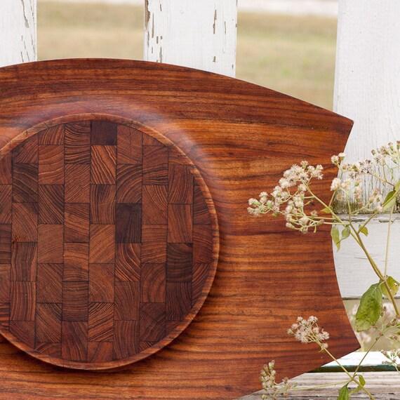 Stunning mid century Quistgaard Mutenye Dansk Designs Danish modern cutting board