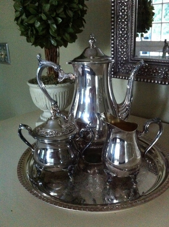 Silver Tea Set - Wm Rogers