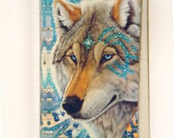 Mystic Wolf Pendant