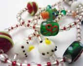 I.D. Necklace/Lanyard Christmas
