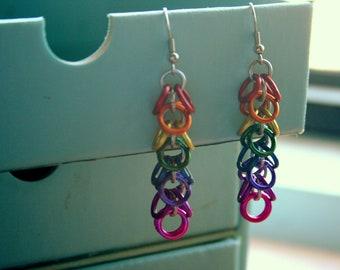 Rainbow Overflow Earrings