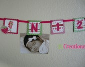 Strawberry Shortcake 1st year photo banner
