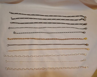 Anklets/Bracelets with Lobster Claw  Clasps -  Various