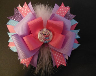 Abby Cadabby boutique hairbow