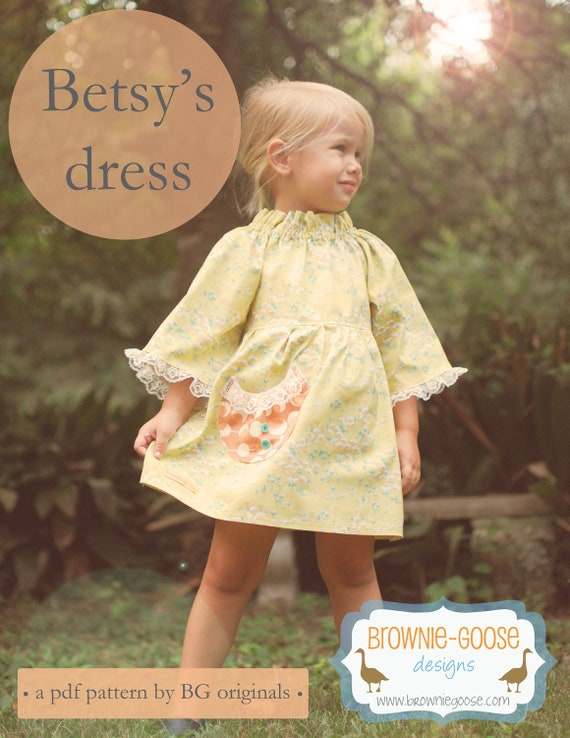 BG Originals Betsy's Dress pdf pattern