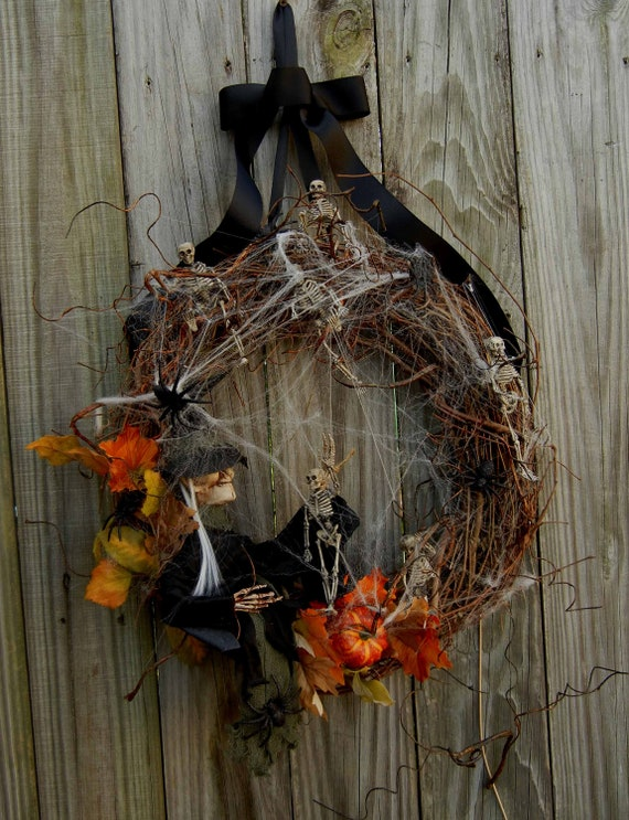 RESERVED FOR JOE Halloween Wreath