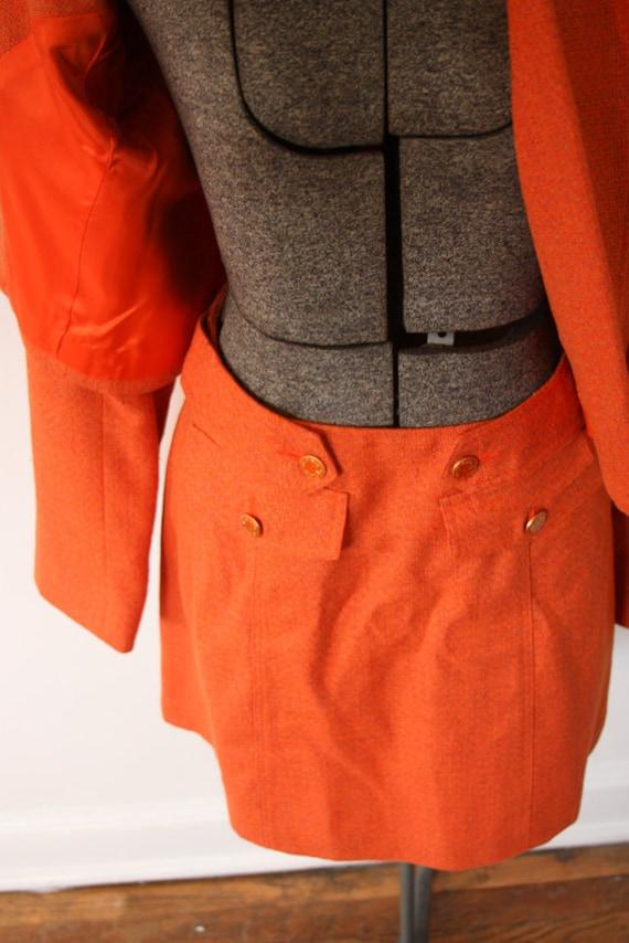 SALE Vintage 2 piece Mini Skirt Suit