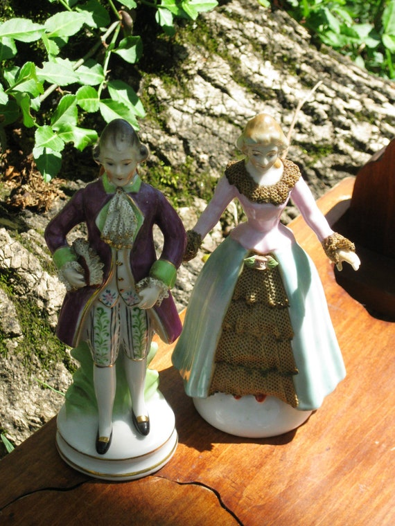 Porcelain Figurines from Occupied Japan