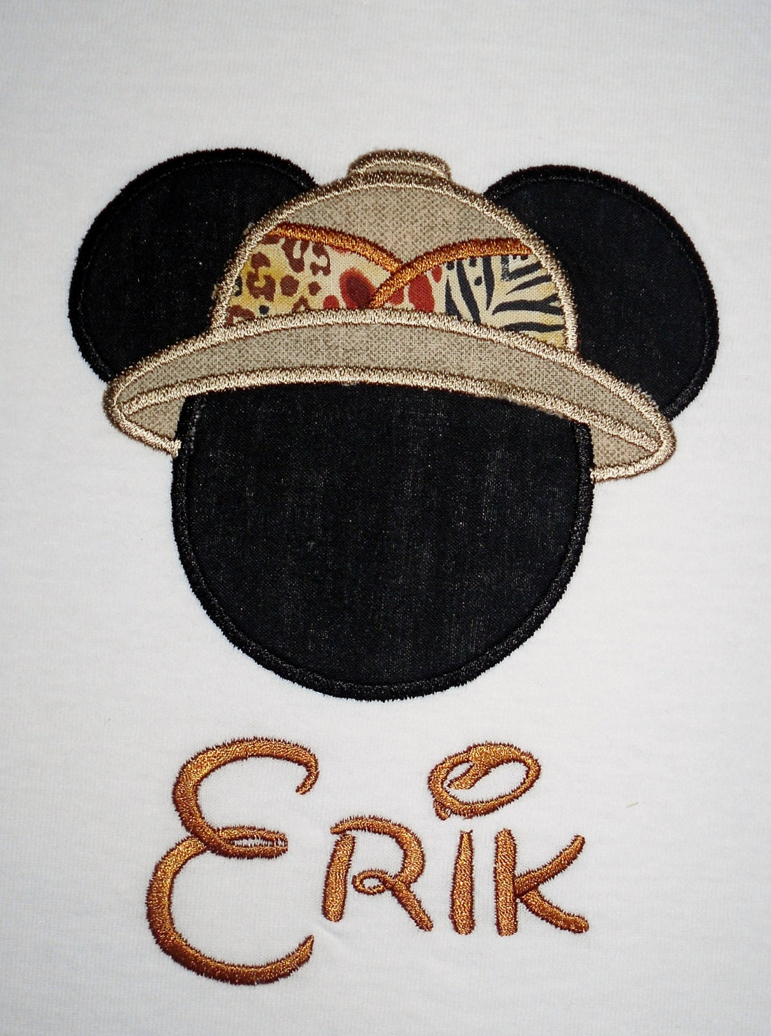 Mickey mouse safari applique t shirt by lollyssewingroom