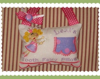 Girl Tooth Fairy Pillow - Lexi