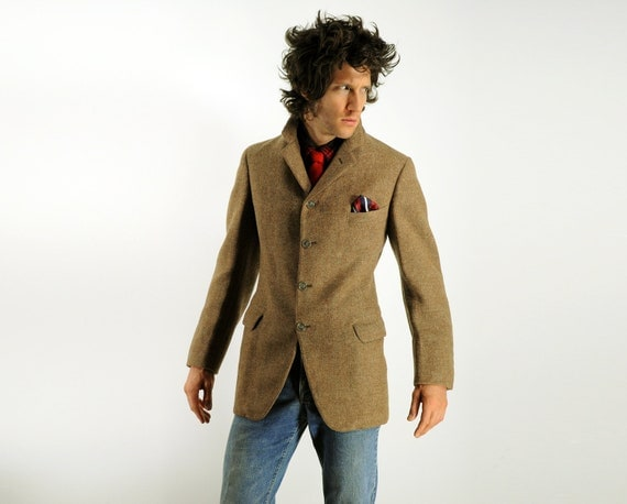 Mens Tweed Sportcoat English Hunting Riding By