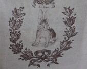 Le Lapin - Bunny - Tea Towel