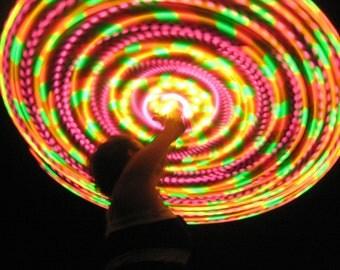 Fruity LED hoop, by Moodhoops