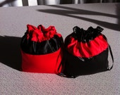 Custom Made Money Bag Dollar Dance Set of 2 one for bride and one for the groom