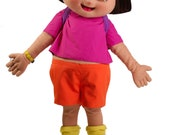 Poster 11x17 plus FREE Sleeve Ready to Hang Dora the Explorer Doll