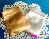 Gold Or Silver Jewelery Bags