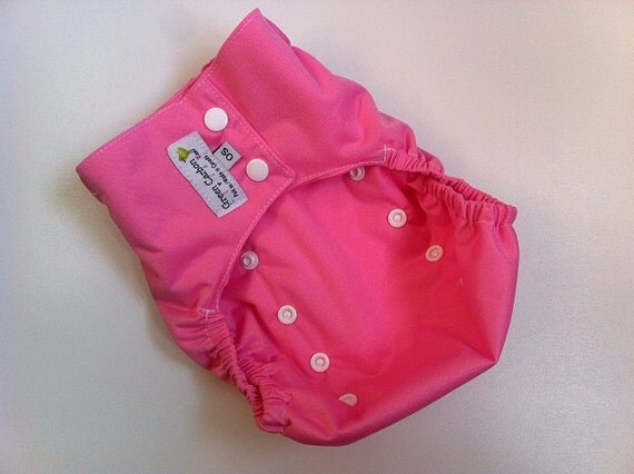 Ready 2 Ship - Raspberry - Diaper Cover - One Size - INVENTORY CLEAROUT