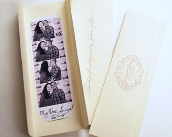 2x6 Photo booth Photo-Strip Picture Holders Party Favor Romantic wedding theme