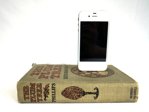 Reserved for Kaitlin - 2 docks, The Plum Tree and Bret Harte- Antique booksi for iPhone and iPod