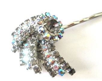 Rhinestone Jewelry Hairpin Bridal Hair Accessory Wedding Accessories Hairpiece