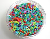 Copacabana Frit Blend for Lampwork Glass Bead Making Frit 96 CoE Ltd. Edition Purple Rose Turquoise Lime Jade Coral 2 oz. Jar